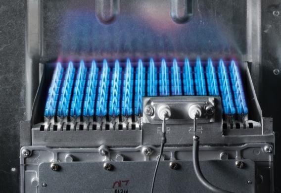 1 уровень горения газового котла